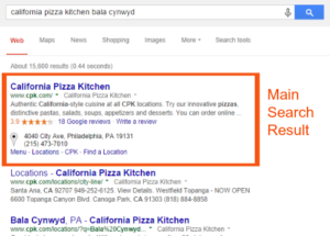 Search Engine Result No Sitelinks RR