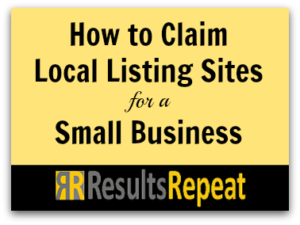 claiming local listings