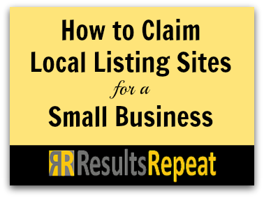 How to Claim Local Listing Sites