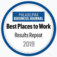 Philadelphia Business Journal Best Places to Work 2019