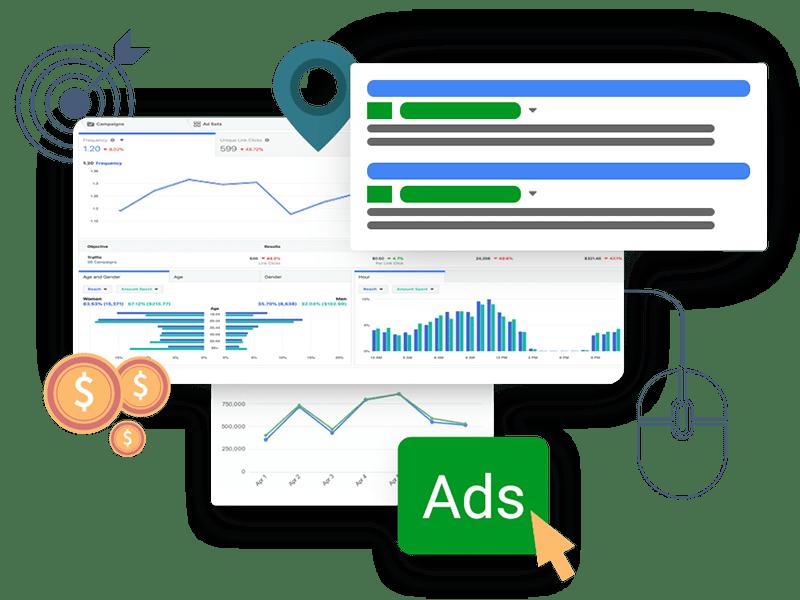 Pay Per Click Advertising Digital Marketing Service