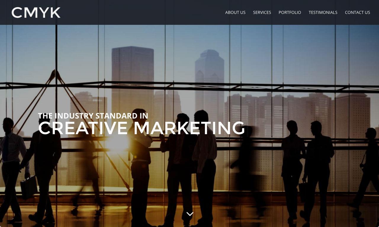 CMYK Website theme screenshot