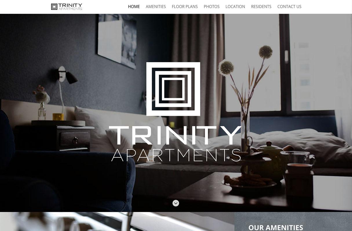 Trinity Website theme screenshot