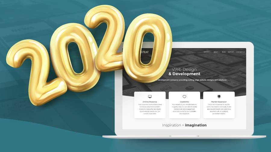 Web Design Trends in 2020 - Trends to watch out for in web design