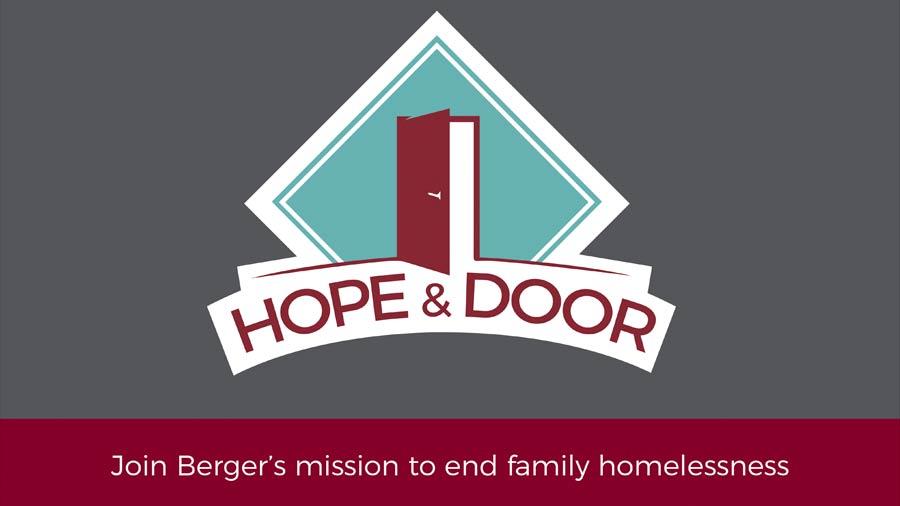 Berger Rental Communities Hope & Door Program helps families dealing with financial hardship find homes