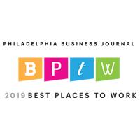 Philadelphia Business Journal Best Places to Work Award - 2019