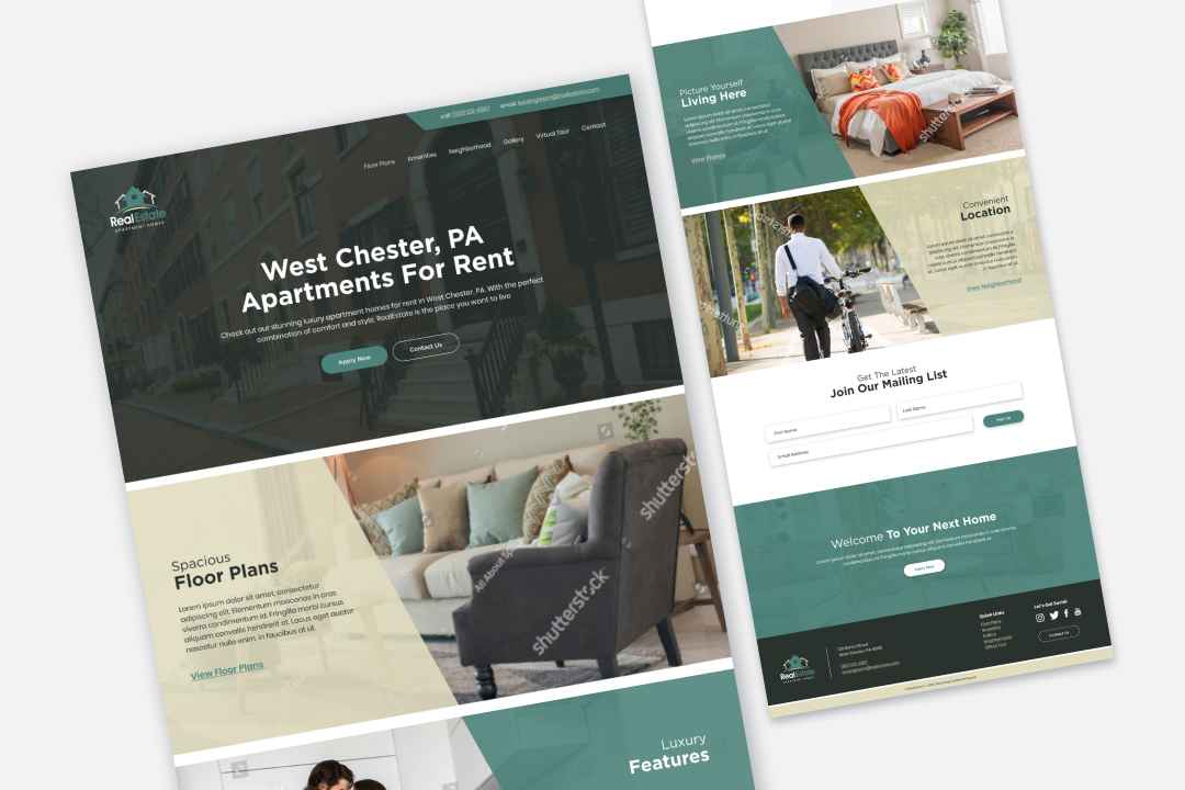 Results Repeat Multifamily Website Template 2