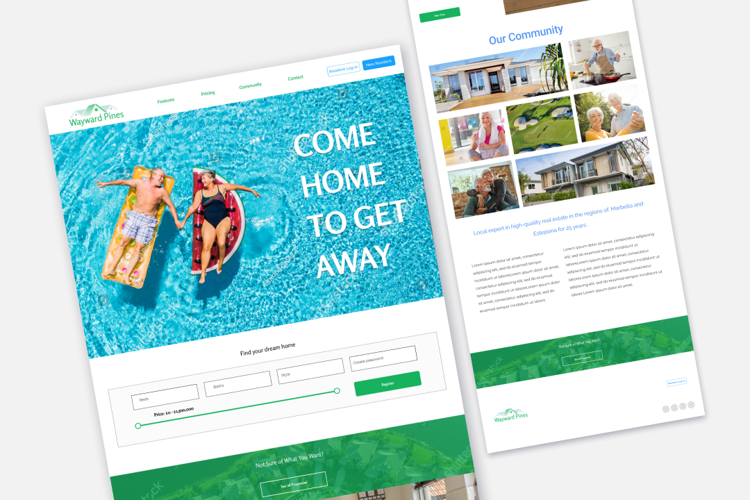 Results Repeat Multifamily Website Template 8