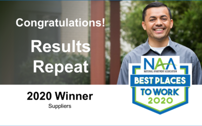 Results Repeat Named as One of NAA's Best Places to Work